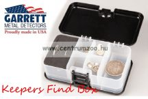 Garrett Keepers Finds Box - érme és lelet gyüjtő doboz