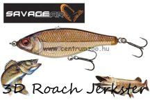 Savage Gear 3D Roach Jerkster 90 9cm 20g SS 02-Rudd gumihal (62222)