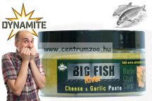 Dynamite Baits Big Fish River Cheese & Garlic horogpaszta (DY1394 ) sajt, fokhagyma