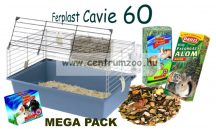 Ferplast Cavie 60 MEGA PACK felszerelt tengerimalac ketrec (57012411MP)