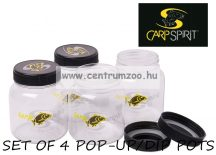 Carp Spirit SET OF 4 POP-UP/DIP POTS  POP-UPos és DIPPes doboz  (ACS140006)