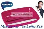Moderna Starter Toalette Set Fuksia Color macska WC alomtálca és lapát 36,8x27,6cm (C120-328)