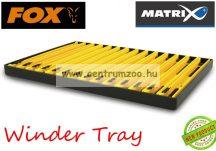 Fox Matrix Winder Tray - 18cm Yellow Winders szerelék tartó létra szett 10db/csomag (GAC051)