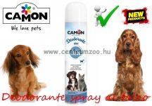 Camon Amici e felici Deodorante spray al talco parfüm dezodor kutyáknak, macskáknak (LA150)