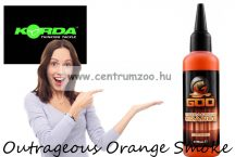 Korda Goo Outrageous Orange Smoke aroma dip (GOO35) narancs