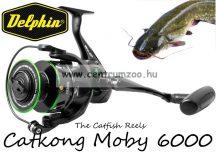 Delphin Catkong Moby 6000 6+1 BB elsőfékes harcsás orsó (289029170)
