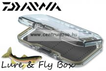 DAIWA Lure & Fly Box, one-sided  legyes doboz 15.5x8x2.5cm (15809-810)