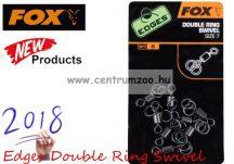 FOX Edges Double Ring Swivel  size 7 karikás forgókapocs 8db (CAC495)