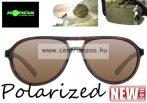 Korda Sunglasses Aviator Tortoise Frame - BrownLens Polarized napszemüveg (K4D04)
