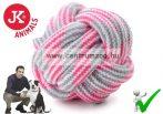 JK Animals TARTÓS fogtisztító kötéllabda játék 9cm (45993-2)