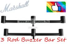 BUZZBAR Marshall 3 Rod Buzzer Bar Set - 3 botos 2db kereszttartó   (CZ5875)