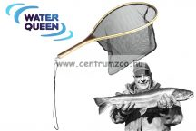 MERÍTŐ  WATER QUEEN Trout Flyfish Premium Net  legyes merítő (AWQ180042)