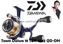 Daiwa Team Daiwa 18 TDR3012QD DH orsó dupla hajtókarral (210943) (18TDR3012QD-DH)
