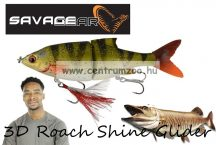Savage Gear 3D Roach Shine Glider135 13.5cm 29g SS 03-Perch PHP gumihal (62248)