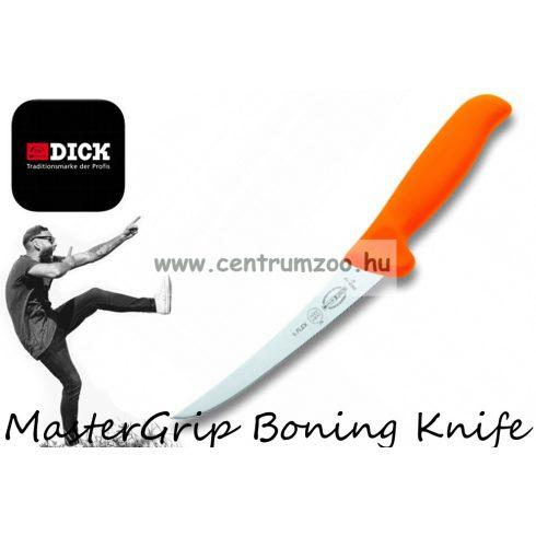 Dick MasterGrip Boning Knife - NARANCS csontozókés 13cm Fél flexibilis pengével (8288213-53)