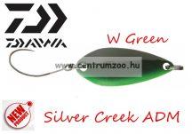 Daiwa Silver Creek ADM 2,6cm 2.2g MHT villantó (16532-202) W Green