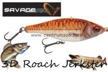 Savage Gear 3D Roach Jerkster 115 11,5cm 39g SS 06-Goldfish gumihal (62230)