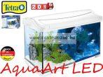 Tetra AquaArt White LED 20l-es komplett prémium fehér akvárium szett (245143)