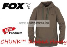 FOX CHUNK™ Ribbed Hoody Khaki 2017new pulóver XXL (CPR543)