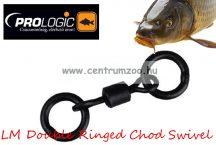 Prologic LM Double Ringed Chod Swivel 15db forgó (49933)