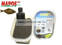 Maros Mix Method Box 2in1 Green Betain Halibut pellet+locsoló - LAPOSHAL (MAPE015)