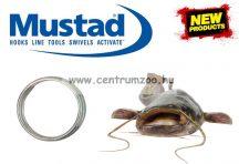 Mustad MA031 Round Split Ring 7,6mm kulcskarika 10db (NLMU07513)