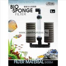 Ista Bio-Sponge akvárium szivacsszűrő dupla LARGE akvárium szűrő (45EU45)