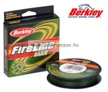 Berkley FireLine Braid Lo Vis Green 110méter 0,40mm 58,1kg fonott zsinór