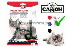 """Camon Parure """"Gattini""""   cicahám + póráz több színben (D631/B)"""