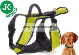 JK Animals X-TRM Trekking  25x650-790mm  állítható prémium hám zöld kutyahám (41023-1)