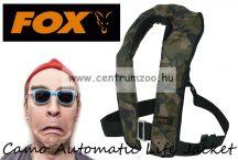 Fox Camo Automatic Life Jacket prémium mentőmellény (CIB033)