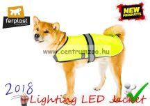 Ferplast RADIUS 40 Lighting LED Jacket láthatósági világító LED kabát - MEDIUM