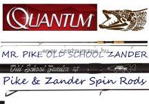 QUANTUM MR. PIKE OLD SCHOOL ZANDER 2,7m 5g 20g pergető bot (14815270)