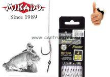 MIKADO METHOD FEEDER XTRA STRONG RIG csalitüskés előkötött előke 10cm  8db  NO.6 (HMFB2805I)