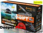 Deeper Smart Sonar Pro+ Wifi Fishfinder halradar Xmas limitált szettben (Limited Serie)