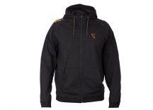 FOX Black & Orange Lightweight Hoodie pulóver SMALL (CCL025)