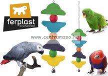 Ferplast PA4096 játék fából csengővel papagájoknak (84096099)