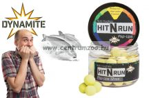 Dynamite Baits bojli Hit n Run Pop-Ups - Yellow 15mm (DY1271)