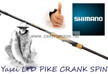 Shimano bot Yasei LTD PIKE CRANK SPIN 225XH 2,25m 50-120g 2r ( YASLTDP225XH) csukás bot