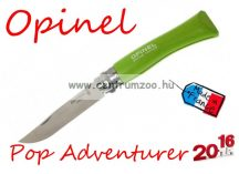 OPINEL Pop & Fuchsia Adventurer zsebkés 8cm pengehosszal (001425) - Green Apple