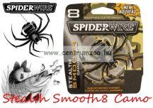 Spiderwire Stealth Smooth8 150m 0,08 mm camo fonott zsinór (1476049)  7,3kg