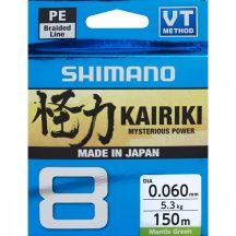 Shimano Kairiki PE SX8 Braid Line 150m 0,23mm 22,5kg - Mantis Green - Original Japan Products