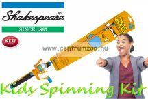 Shakespeare® COSMIC SPINNING COMBO Catch a Monster Kids Spin Rods Orange szett (1506889) narancs