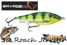 Savage Gear 3D Roach Jerkster 90 9cm 20g SS 05-FireTiger gumihal (62224)