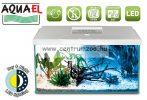 AquaEl Leddy 60 Day & Night WHITE akvárium szett 54liter EGYENES felszerelt akvárium szett () FEHÉR