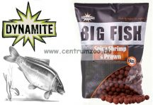 Dynamite Baits BIG FISH Spicy Shrimp & Prawn Boilie  bojli 15mm 1,8kg  (DY1504)