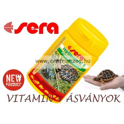 Sera Reptimineral H 100ml hüllő vitamin + ásványi anyag por (002820)