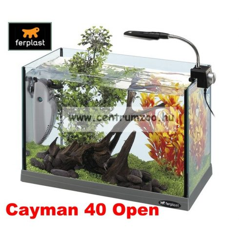 Ferplast Cayman 40 Open komplett prémium akvárium 21liter -AKCIÓ-