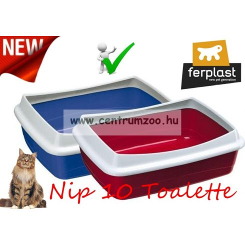 Ferplast Nip 10 Plus NEW macska WC 47x36x15,5cm (72041099)