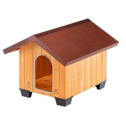 Ferplast Domus Small fa kutyaház 61 x 74,5 x h 55 cm